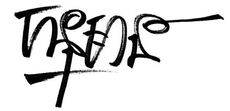 សញ្ញេ អូរីជីណល ដែលប្រើដោយ Black Marker